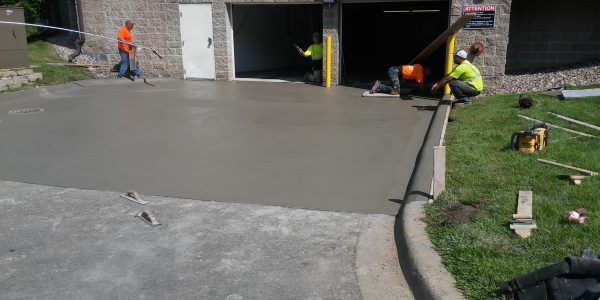 Residential Concrete Driveway 27215